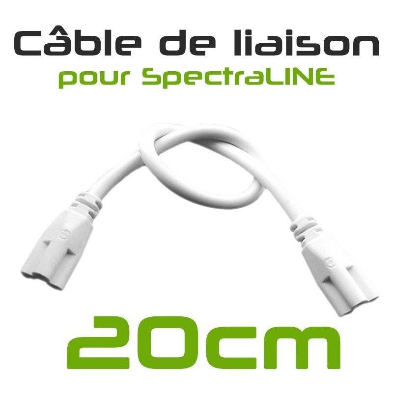 GreenvisuaLED SpectraLINE 60cm 14W - Barre d'éclairage horticole blanc