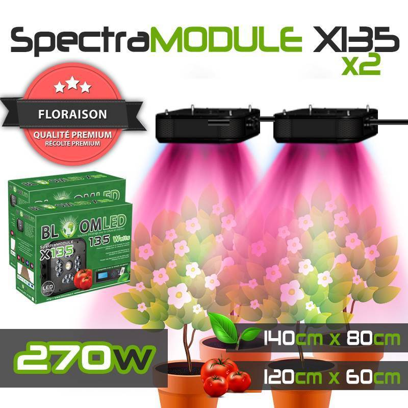 TM 95W 120cm - Lampe horticole LED pour terrariums - Simple à utiliser et performante