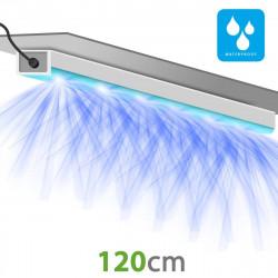 Connecteur droit pour rail